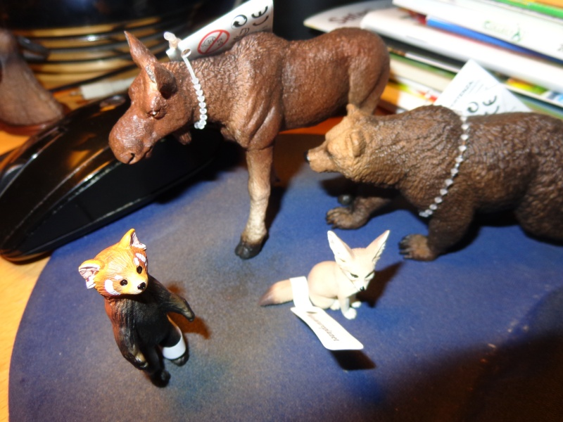 The Eikoh Miniaturplanet animals in my zoo Dsc01413
