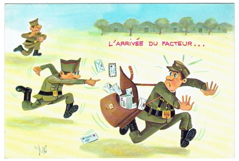 Les cartes postales anciennes Humour à échanger 02910