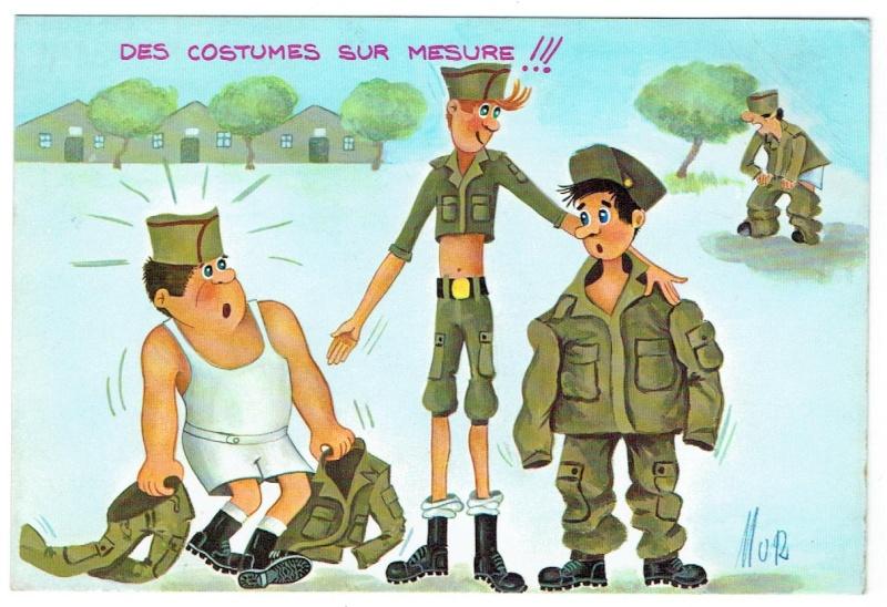 Les cartes postales anciennes Humour à échanger 03210
