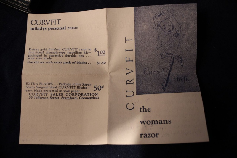"""Rasoir pour Femme """"Curvfit"""" complet Img_6817"""