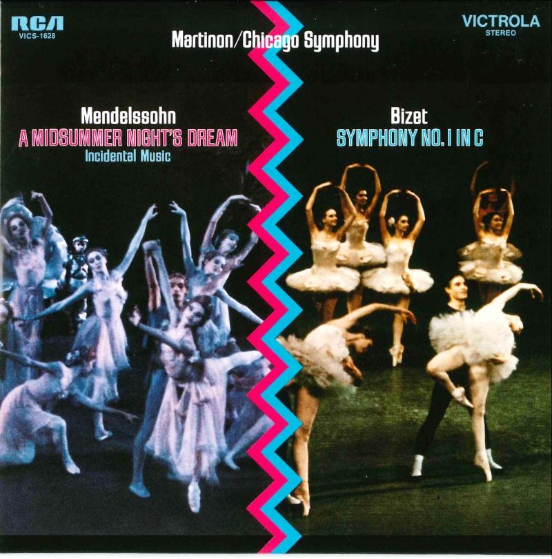 Mendelssohn Songe d'une Nuit d'Eté + autres musique de scène 20150315