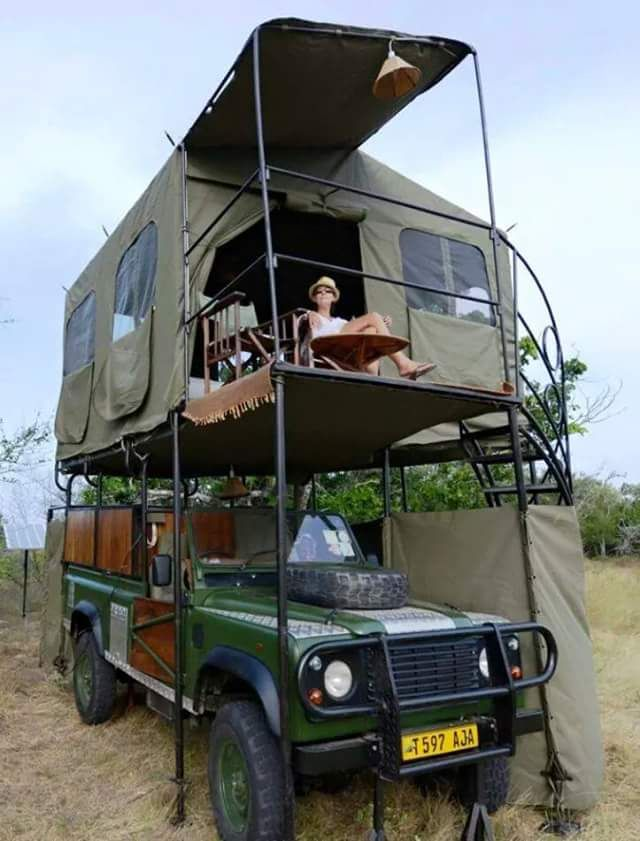 Roof tents gone mad... Defend10