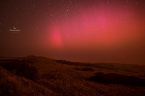 Exceptionnelles aurores boréales en France 310