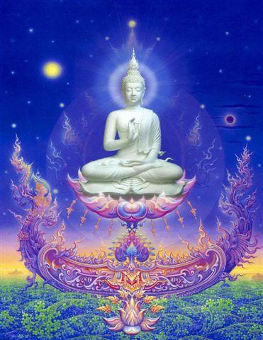 La fête du Wesak, fête du Bouddha - Pleine Lune de Mai 33810