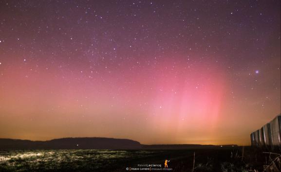 Exceptionnelles aurores boréales en France 410