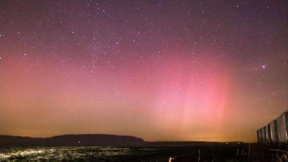 Exceptionnelles aurores boréales en France Aurore10