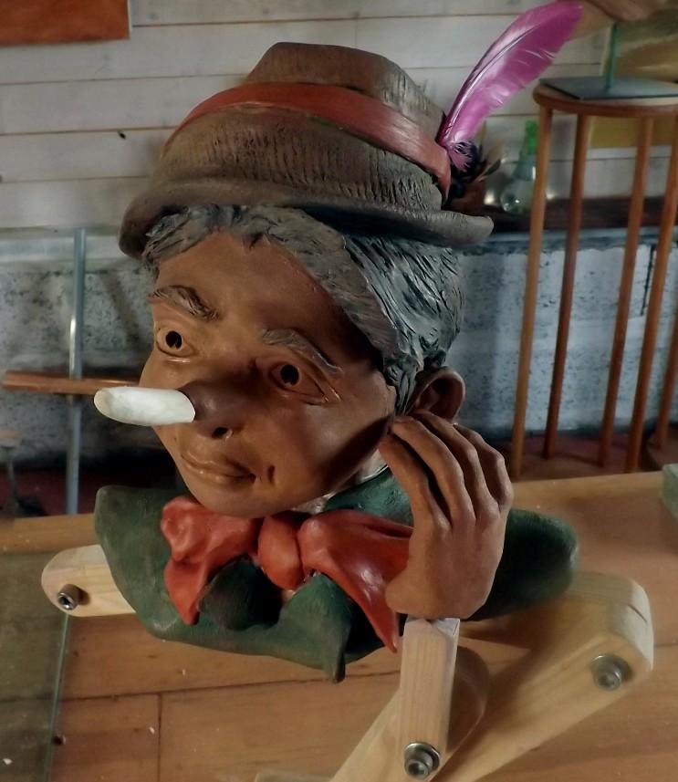"""""""Pinocchio""""  Pas a pas en temps réel... 02210"""