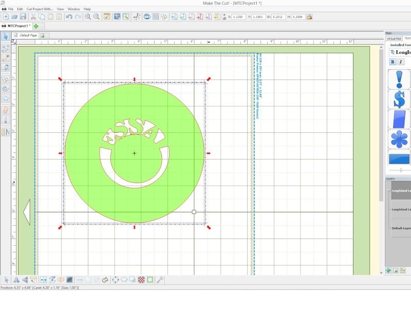 Comment écrire entre deux cercles excentrés ? Sans_t11