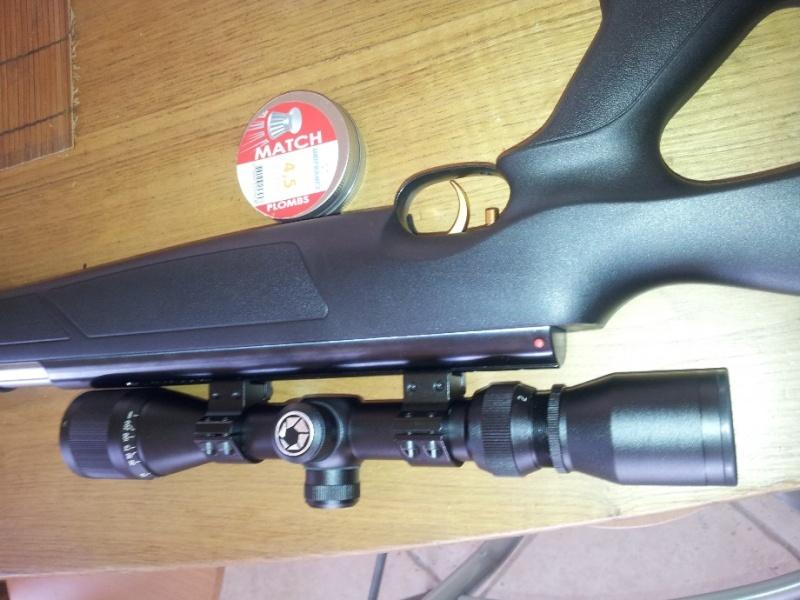 Carabine neuve neuve Hw97K 16 joules cal 4,5 Puissance faible ? - Page 2 Caralu10