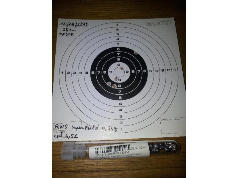 Carabine neuve neuve Hw97K 16 joules cal 4,5 Puissance faible ? - Page 2 Rws_su10