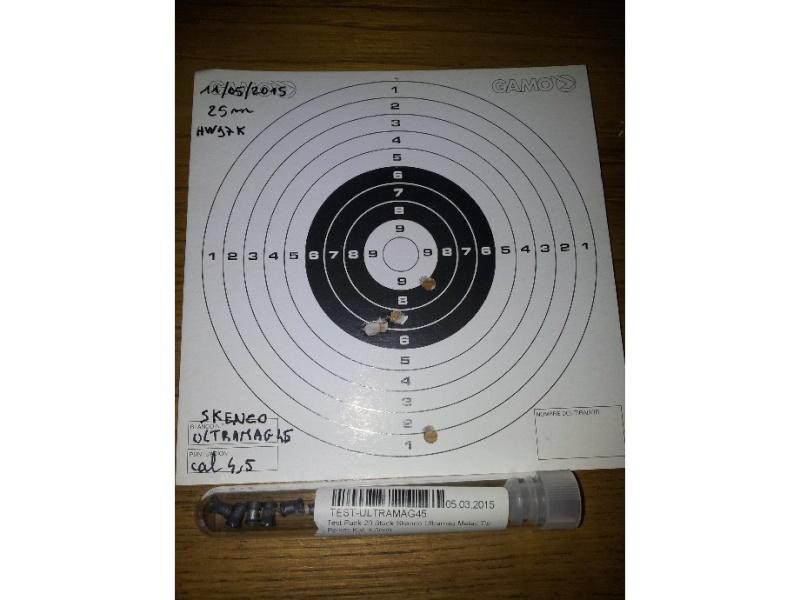 Carabine neuve neuve Hw97K 16 joules cal 4,5 Puissance faible ? - Page 2 Skenco10