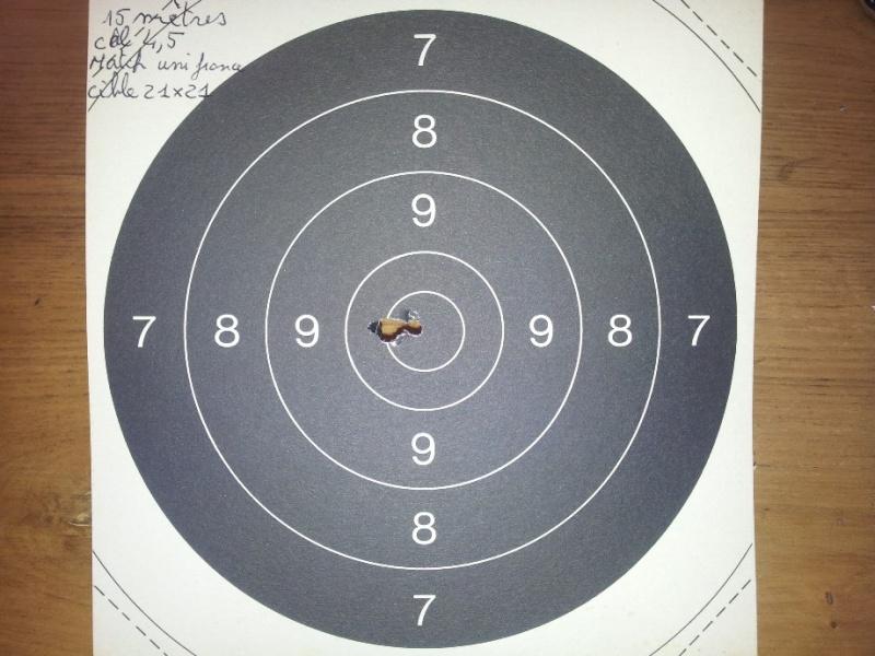 Carabine neuve neuve Hw97K 16 joules cal 4,5 Puissance faible ? - Page 2 Tir_ci11