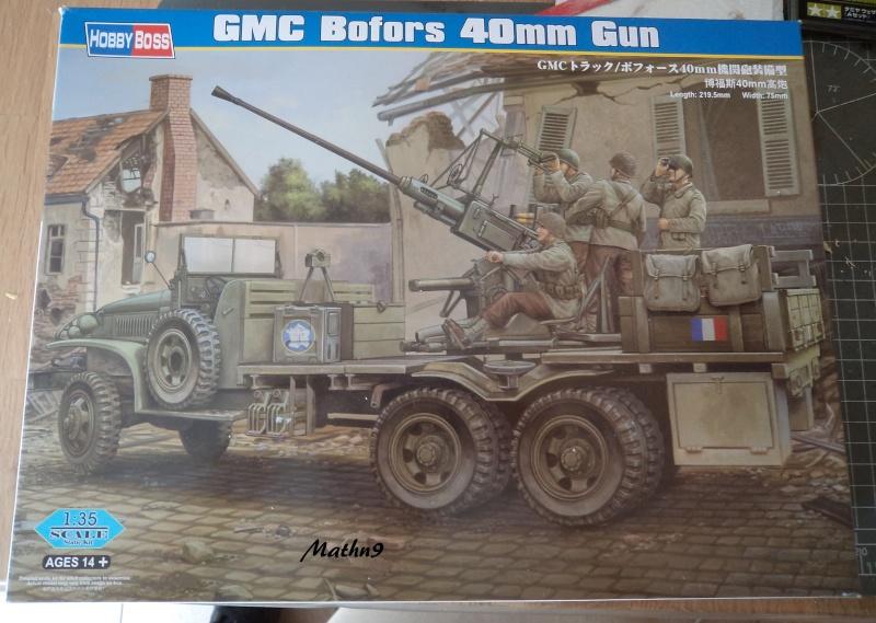 GMC Bofors 40mm [HobbyBoss 1/35] -Terminé- Dsc03080