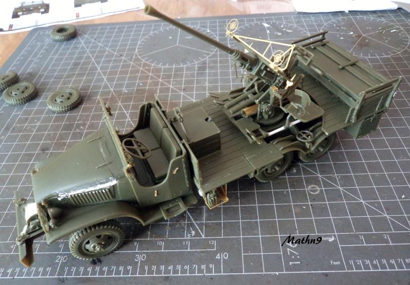 GMC Bofors 40mm [HobbyBoss 1/35] -Terminé- Dsc03122