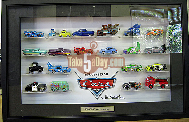 "The John Lasseter 50,000,000 ""Thanks"" Display Case Case10"