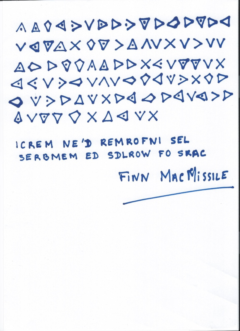 MESSAGE SECRET DE FINN McMISSILE 2015 Scan0011