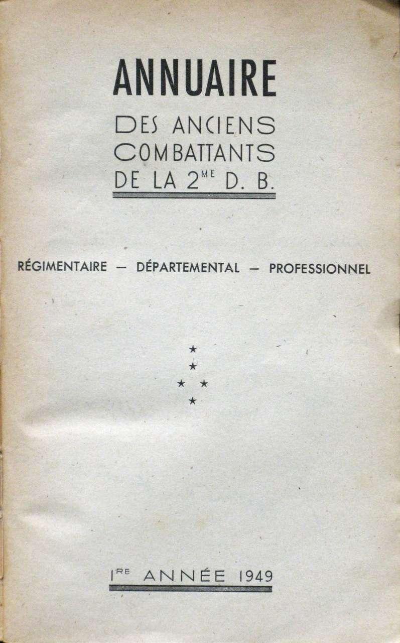 ANNUAIRE DES ANCIENS de la 2e D.B. Annuai11