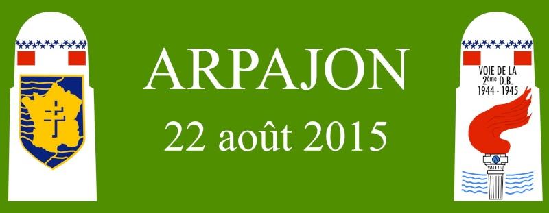 Borne du serment de Koufra: ARPAJON (91) Bandea11