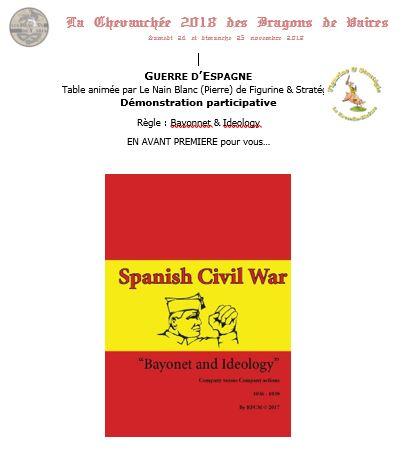 Samedi: 15mm Guerre d'Espagne: Bayonnet & Ideology de Peterpig par The Nain Blanc du KB 1310