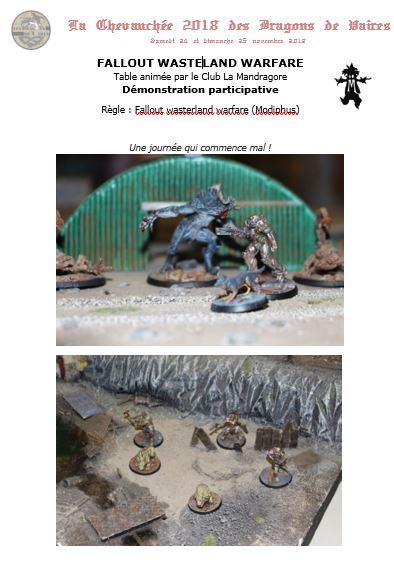 Fallout wasteland warfare (32mm) - Démo participative le samedi 911