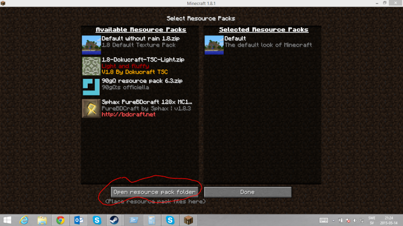 How to install a resource pack. Skyrmk12