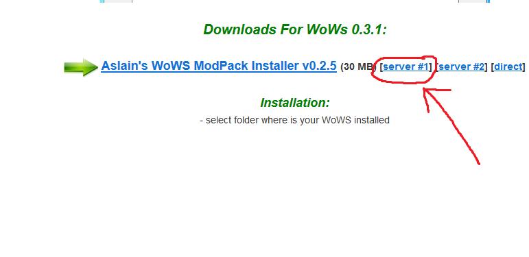 Mods für WoWS Link11
