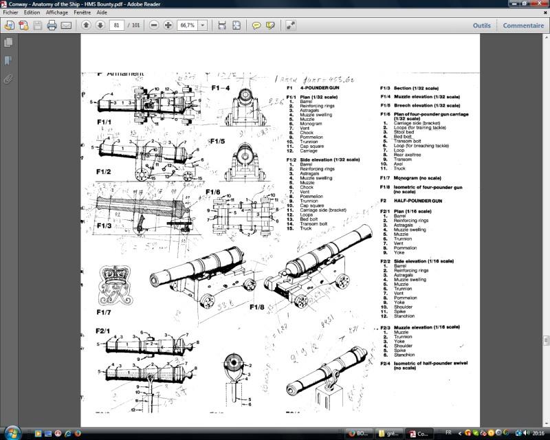 BOUNTY  de Sergal au 1/60° - Page 2 Canons10