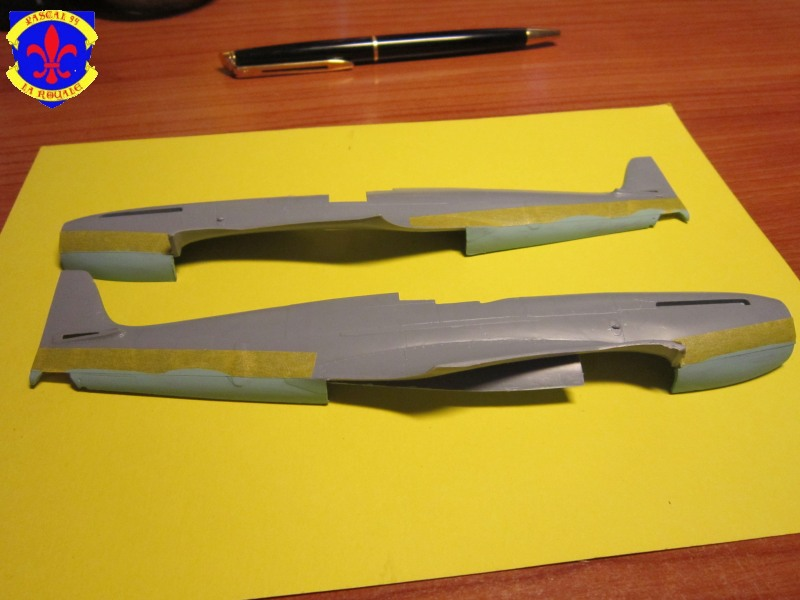 Supermarine Seafire F MK. XV de Revell au 1/48 par Pascal 94 Img_4455
