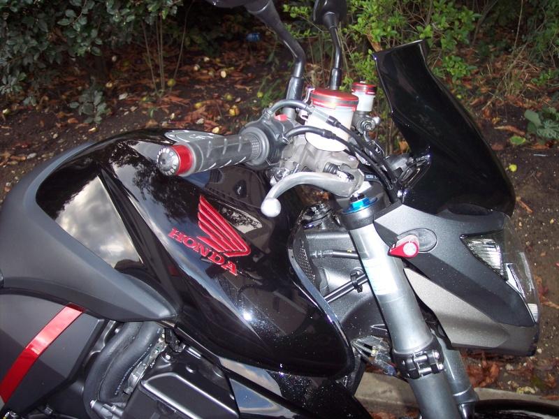 Peintre ma moto noir mat et rouge  laqué 10082710