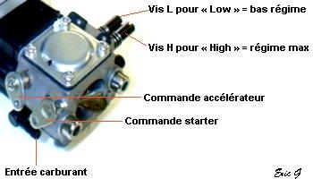 Réglages carburateur Walbro Carbur10