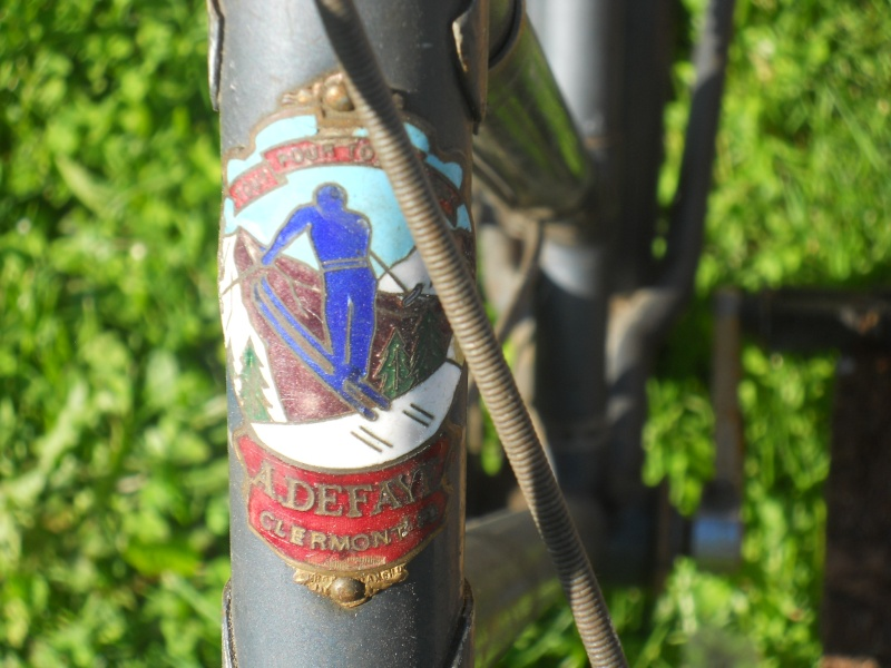 "Vélo mixte ""cadre anglais 1937-39 "" neuf ; A.DEFAYE -- CLERMONT-FERRAND Dscn5620"