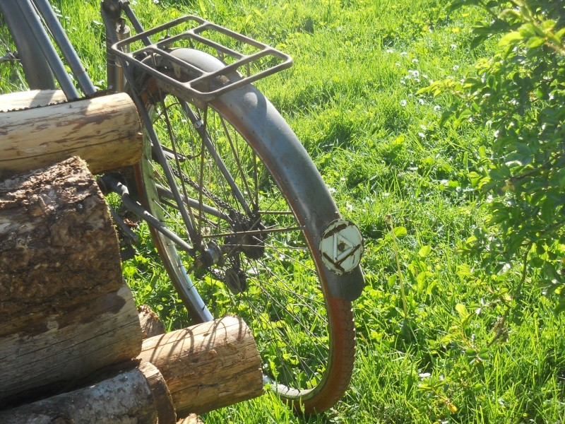 "Vélo mixte ""cadre anglais 1937-39 "" neuf ; A.DEFAYE -- CLERMONT-FERRAND Dscn5621"