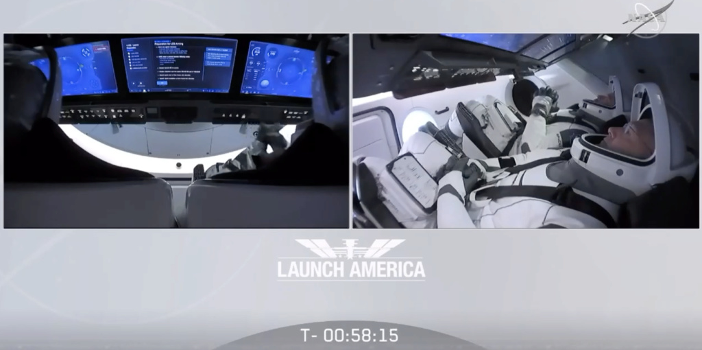 Falcon 9 (Dragon 2 Demo-2) - KSC - 30.5.2020 (1/2) - Page 23 Captur13