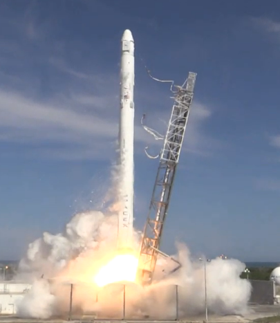 Lancement Falcon 9 / CRS-6 - 14 avril 2015 - Page 6 Captur14