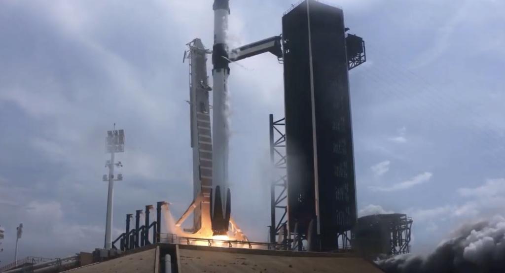 Falcon 9 (Dragon 2 Demo-2) - KSC - 30.5.2020 (1/2) - Page 36 Captur32