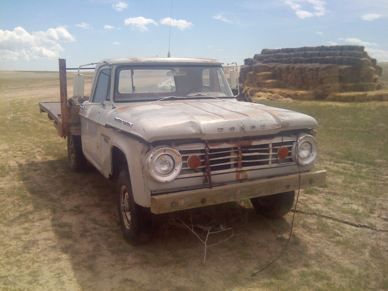 1966 Dodge Power Wagon W200 restoration. Textpl10