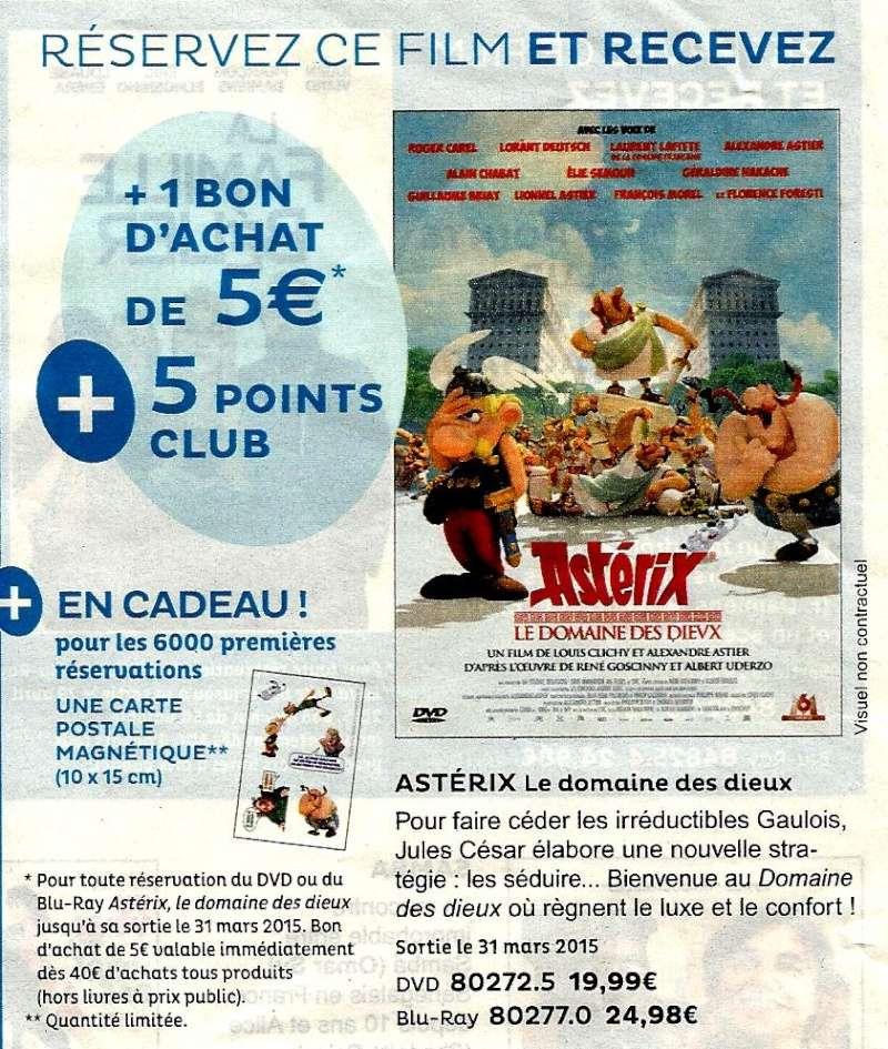 Astérix et le Domaine des Dieux / Astérix DDD : DVD & Blu-ray : 31 Mars 2015 Scan0010