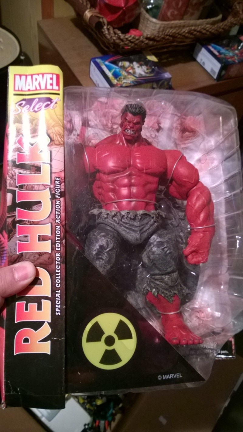 Red Hulk - Marvel Select - MISB Wp_20113