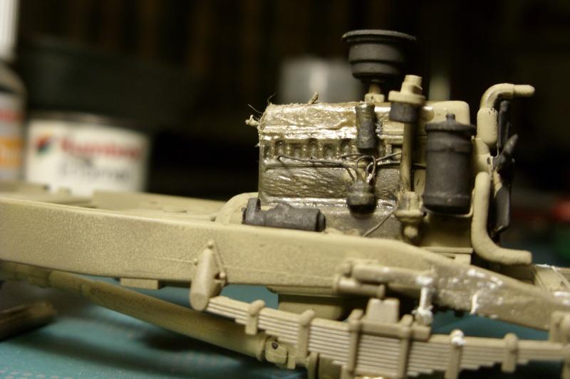 [1/35]GMC Tamiya - Montage en cours Sn856810