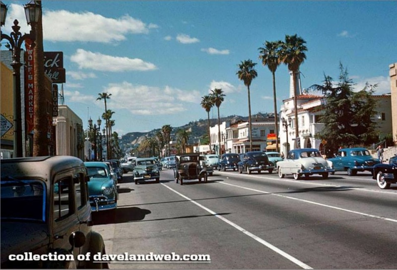 Rues fifties et sixties avec autos - 1950's & 1960's streets with cars - Page 4 10164110
