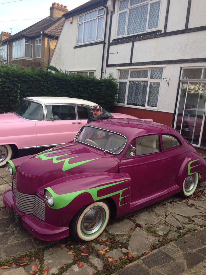 British classic car custom & mild custom - UK - GB - England 10408810
