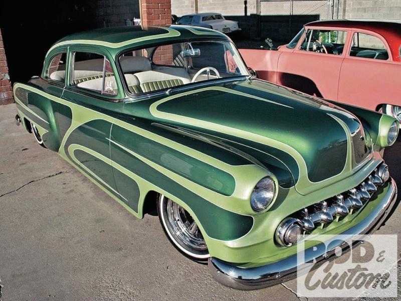 Chevy 1953 - 1954 custom & mild custom galerie - Page 9 10428110