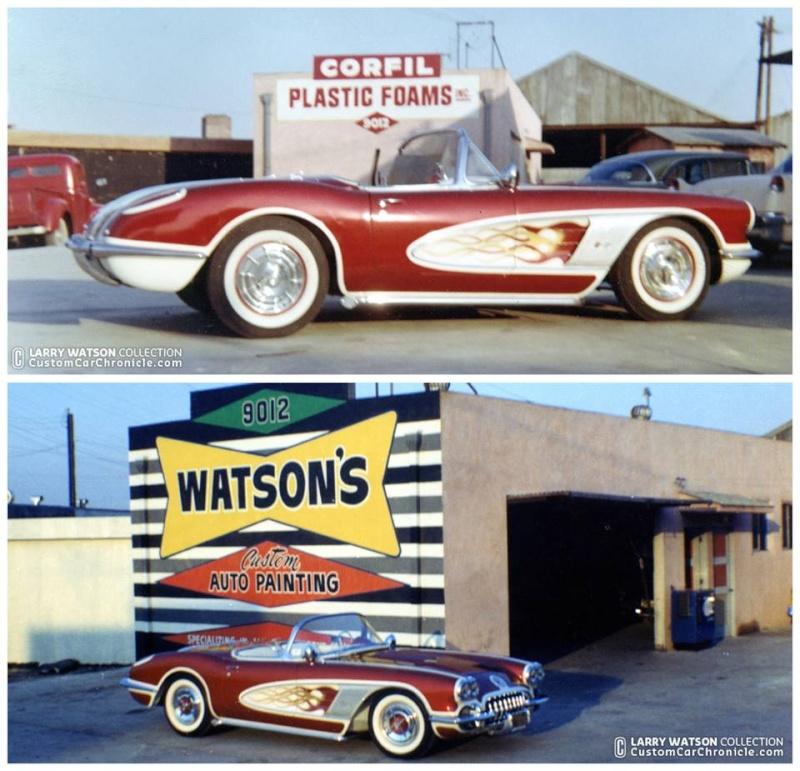 Chevrolet Corvette Customs & mild customs - Page 2 10915311