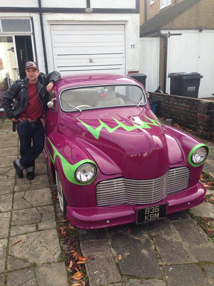 British classic car custom & mild custom - UK - GB - England 10983310