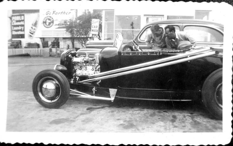 "Hot rod in street - Vintage pics - ""Photos rétros"" -  - Page 4 11036710"
