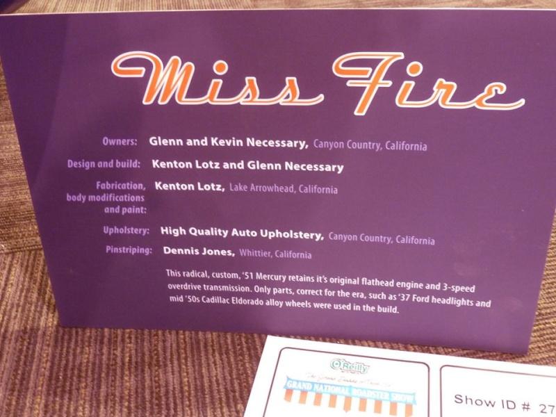 1951 Mercury - Miss Fire - Glenn & Kevin Necessary - Kenton Lotz 11049610