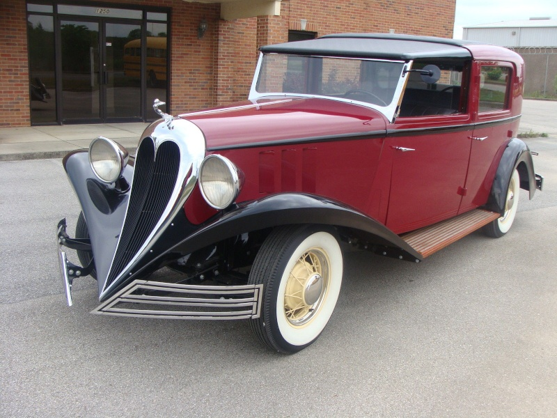 1935 BREWSTER TOWN CAR 1106