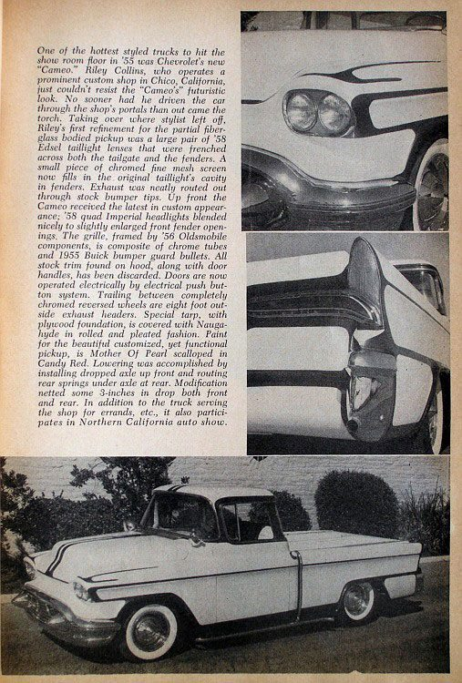 Chevy pick up  1955 - 1959 custom & mild custom - Page 2 11060012