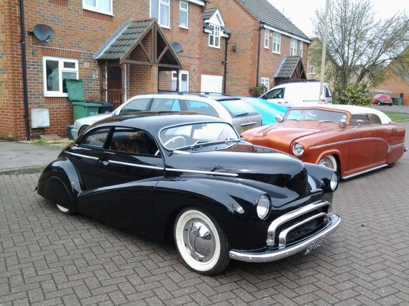 British classic car custom & mild custom - UK - GB - England 11101910