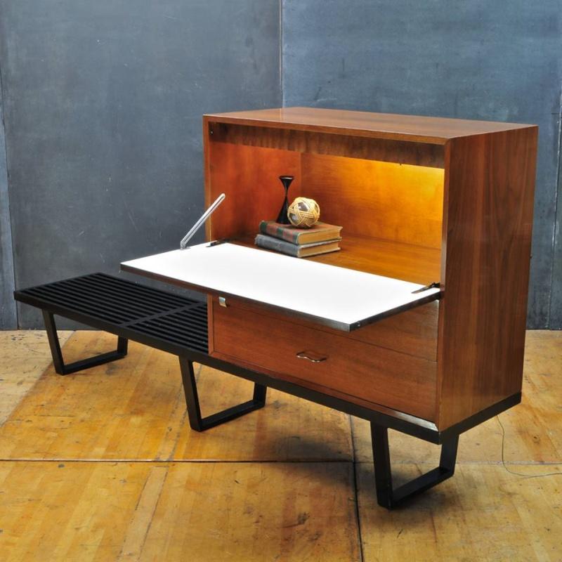 Bureaux & Mobiliers de bureaux 1950's - Office furnitures & Secretary 11114710